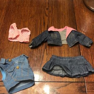 American Girl doll/My life accessories/clothing